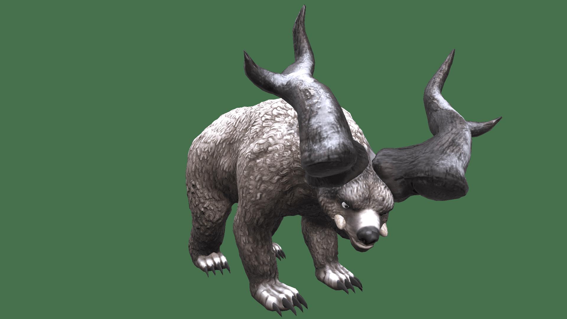 HORNED BEAR